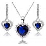 Set  Amore sapphire