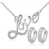 Set Love silver