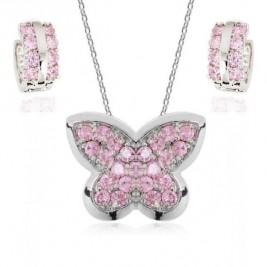 Set Fluturi rose