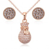 Set Paris roze gold
