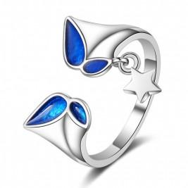 Inel Stea blue